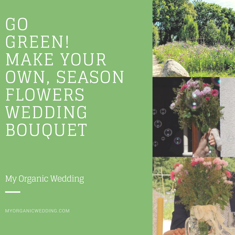 bouquet de mari e de saison fait avec les fleurs du. Black Bedroom Furniture Sets. Home Design Ideas